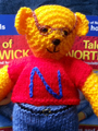 Knitted Northwick Bear