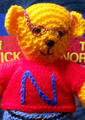 Knitted Northwick Bears